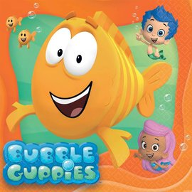 Napkins-LN-Bubble Guppies-16pk-2ply - Discontinued