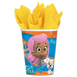 Cups-Bubble Guppies-Paper-9oz-8pk - Discontinued