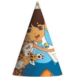 Hat-Cone-Diego-8pk-Paper (Discontinued)