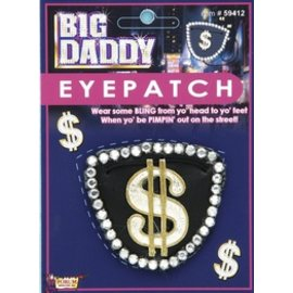 Costume Accessory-Eye Patch-1pkg