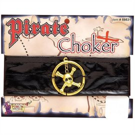 Costume Accessory-Pirate Choker-1pkg