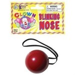 Costume Accessory-Blinking Clown Nose-1pkg