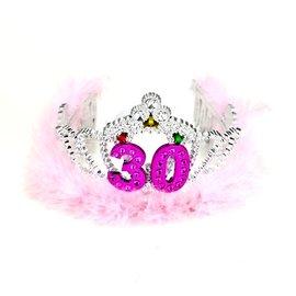 Flashing Tiara-Happy 30th Birthday-1pkg