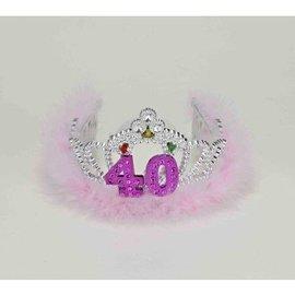Flashing Tiara-Happy 40th Birthday