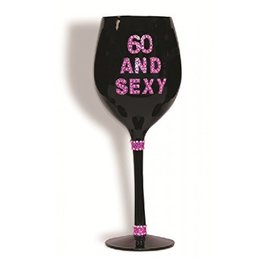 Glass-Wine -60 and Sexy-20oz
