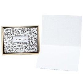 Thank You Cards-Flowers-8pk