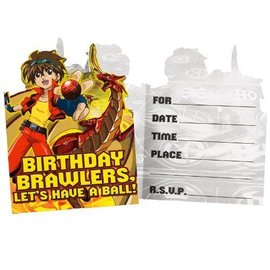 Invitations-Bakugan-8pk