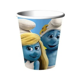 Cups-Smurfs-Paper-9oz-8pkg (Discontinued)