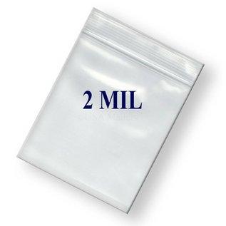 Ziplock Bag-Clear-Plastic-3''x5''-2mil-100pk