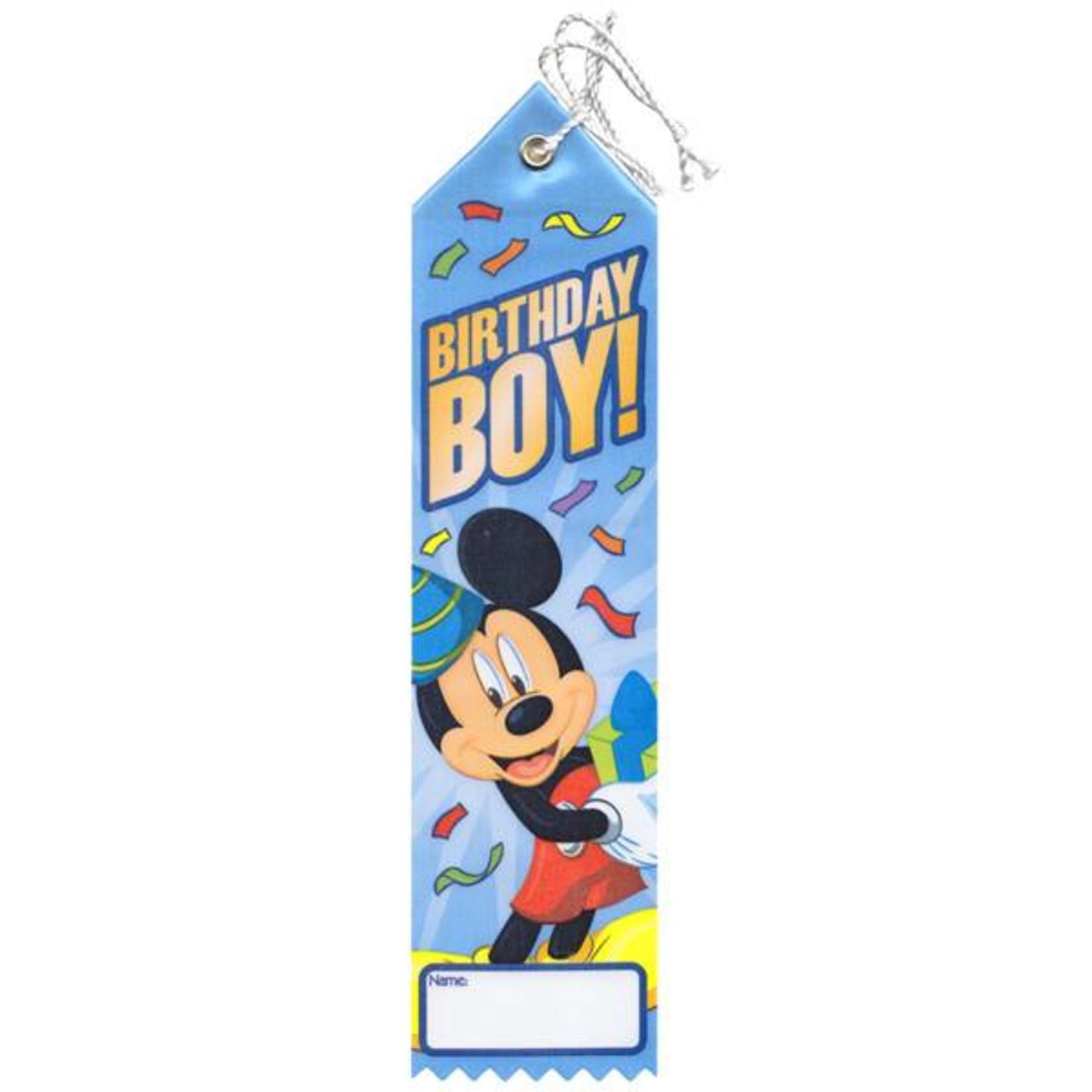 Award Ribbon-Mickey Mouse-8''