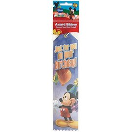 Award Ribbon-Mickey Mouse-1pkg