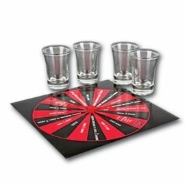 Drinking Game - Spin, Sip, or Strip - 1pk