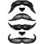 Temporary Tattoos-The Don Juan StacheTATs-1 Sheet