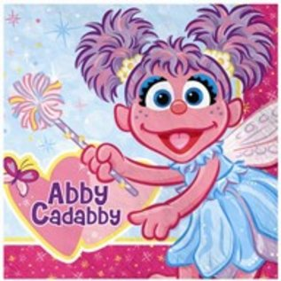 Napkins Ln Abby Cadabby 16pk 2ply Discontinued Final Sale