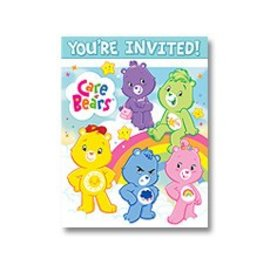 Invitations-Care Bears-8pk (Discontinued)