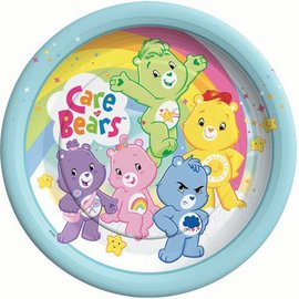 Plates-BEV-Care bears-8pk-Paper (Discontinued)