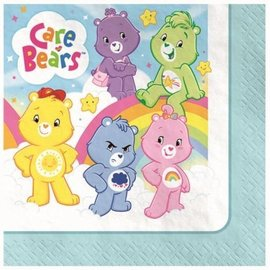 Napkin-Bev-Care Bear-16pk-2Ply (Discontinued)