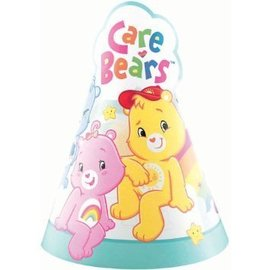Hats-Care bears-8pk-Paper (Discontinued)