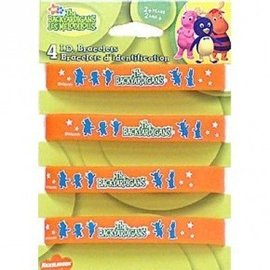 Braclets-Backyardigans-4pk (Discontinued)