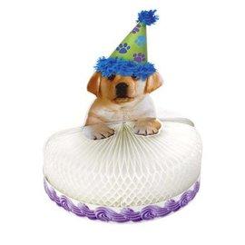 Centerpiece-Honeycomb-Puppy Party-1pkg