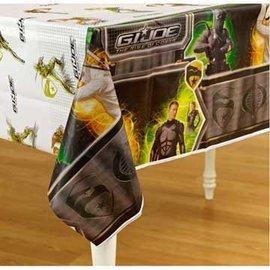 Table Cover- GI-Joe Rise of the Cobra-Plastic-54'' x 96'' (Discontinued)
