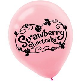 Balloons-Latex-StrawBerry Shortcake-6pk