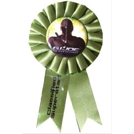 Award Ribbon-Gi Joe-5.5''  (Discontinued)