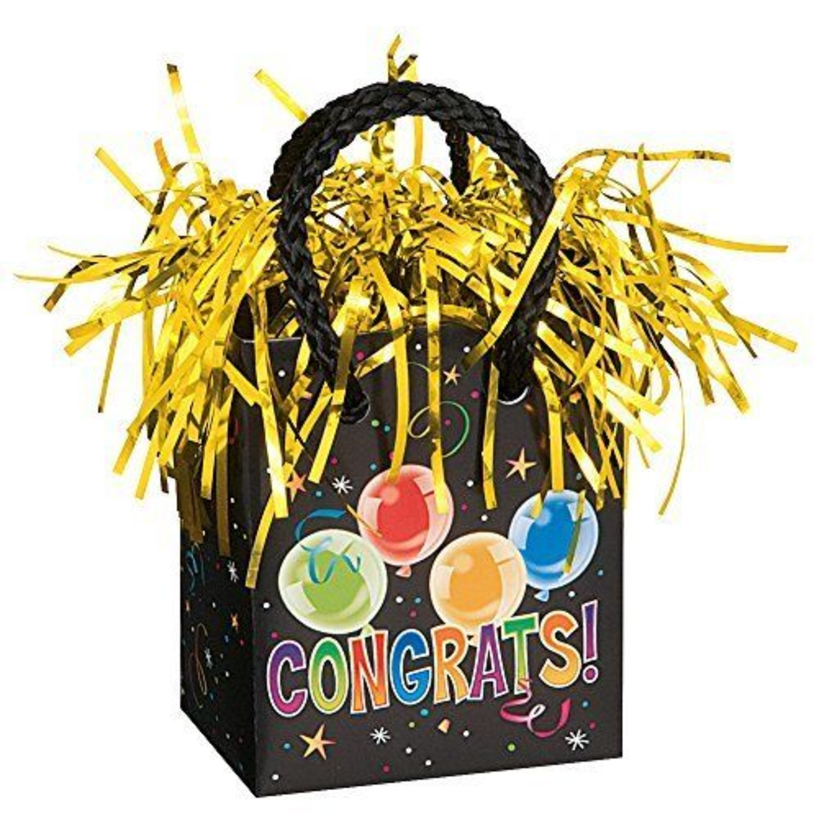 Balloon Weight-Congrats!-3''x2.5''