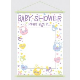 Banner-Baby Shower-Sign In