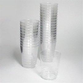 Shot Glass-Clear-Plastic-29.5ml-30 pk