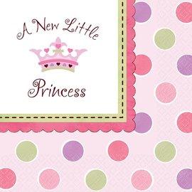 Napkins-LN-A New Little Princess-16pk-2ply