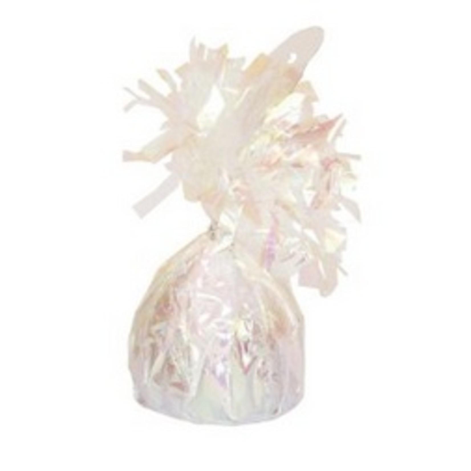 """Balloon Weight-Foil-Iridescent-1pkg-4.5""""x2.25"""""""