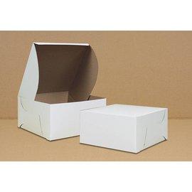 Cake Box-White-Paper-9''x9''x4'' **