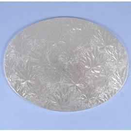 Cake Board-Silver-Foil-12''