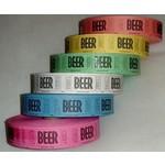 Ticket Roll-Beer-Multi Color-1000pk/2.25''