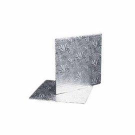 Cake Board-Square-Silver-Foil-12''