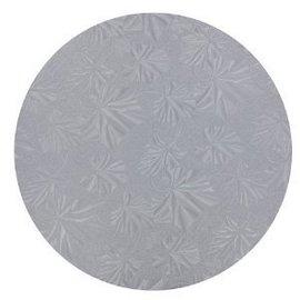 """Cake Board-Round-Silver-Foil-14"""""""