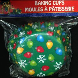 Baking Cups-Christmas-Ornament- 3''/40pk