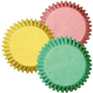 Baking Cups-Pastel Colors-75pkg-2""