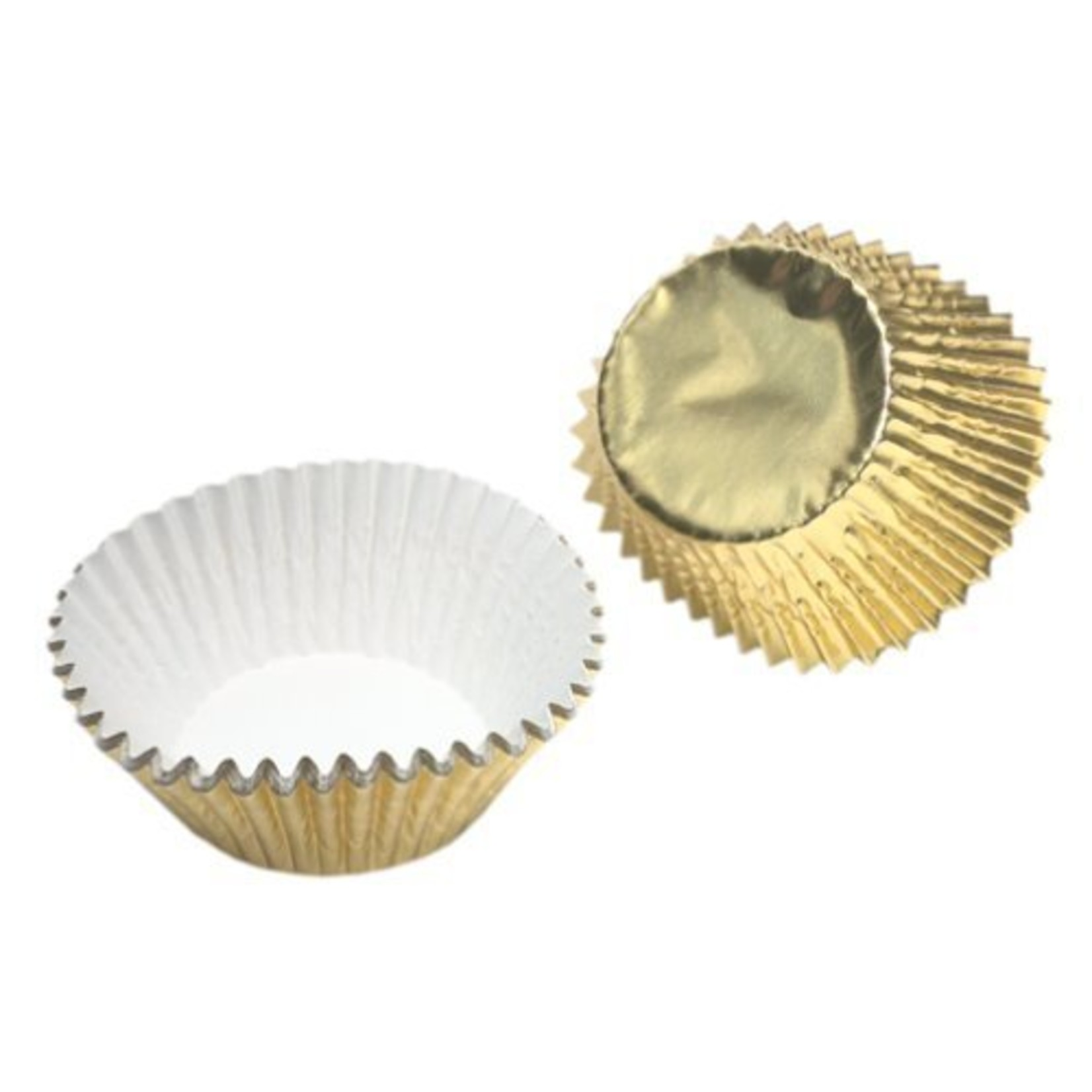 "Baking Cups-Gold Foil-24pkg-2"""
