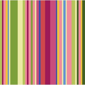Napkins-BEV-Colorful Stripes-16pk-2ply