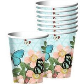 Cups-Butterfly Dreams-18pk-Paper (Discontinued)