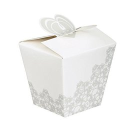 "Favor Boxes-Wedding Flower-4pk/3.5""x4.5""x2.87"""