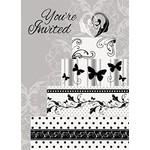 Invitations-Victorian Wedding-8pk