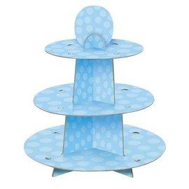 "Cupcake Tree- Baby Blue- 11.75"" Widex1.10ft High"