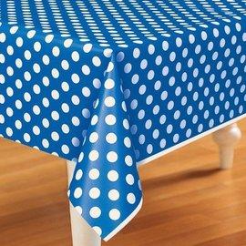 Table Cover-Royal Blue-Plastic-54''x108''