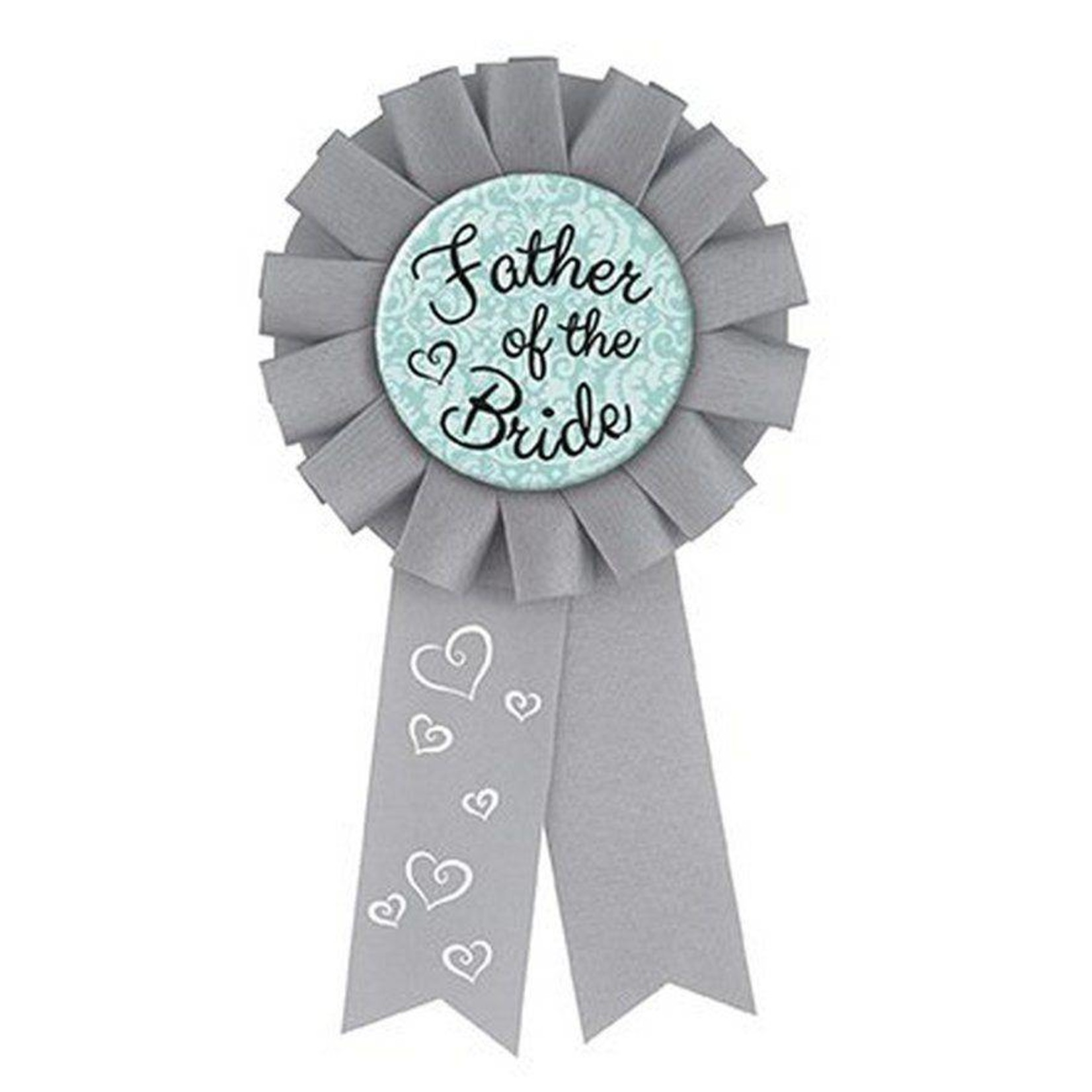 "Award Ribbon- Father Of The Bride- 1pk/5.25"""
