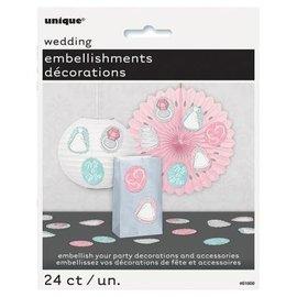 Embellishments- Wedding- 24pk