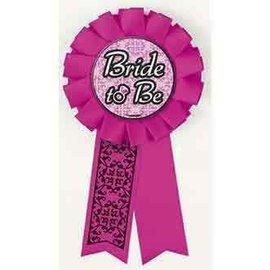 """Award Ribbon- Bride To Be (5.5"""")"""