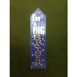 Award Ribbon-Im A Big Brother-8.25''